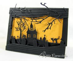 Halloween Hill by kittie747 - Cards and Paper Crafts at Splitcoaststampers