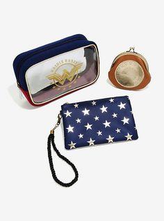 DC Comics Wonder Woman Makeup Bag Set,