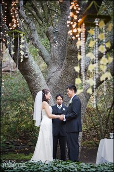 i've always loved the idea of getting married under a tree
