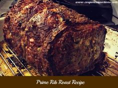 Perfect Prime Rib Roast - Made 12/21/15. I used this recipe only for the rub. The cooking time I changed. I cooked it at 500 degrees for 20 minutes and then reduced the heat to 325 for an additional two hours for a medium-well doneness to appease everyone in my family. The meat was so tender and flavorful with the garlic and herb rub. I added some veggies around it as well and it all turned out perfect.