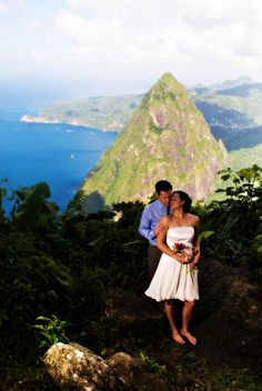 Every moment on Saint Lucia is wrapped in romance.