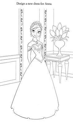 Disney Coloring Pages : Photo Blank Coloring Pages, Frozen Coloring Pages, Disney Princess Coloring Pages, Disney Princess Colors, Disney Drawings, Cartoon Drawings, Coloring Pages For Kids, Coloring Books, Cinderella Drawing