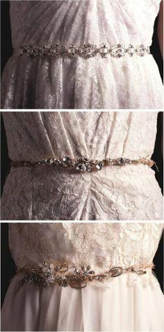Sarah Seven Bridal Belts