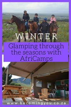 Glamping in winter is definitely something that our family is considering making an annual tradition. Our kids love traditional camping and literally beg Family Fun Day, Family Movies, Open Water, Winter Activities, Cape Town, Glamping, Family Travel, Countryside, South Africa