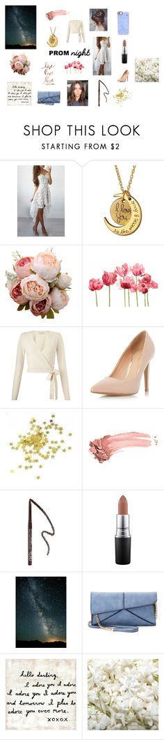 """""""Prom Night Romance"""" by mothernaturesdaughter ❤ liked on Polyvore featuring WithChic, Schick, Miss Selfridge, Dorothy Perkins, Elizabeth Arden, Forever 21, MAC Cosmetics, Mellow World, OneSelf and Casetify"""