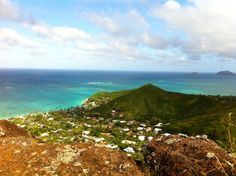 Breathtaking views - one of many reasons we love #hiking #Hawaii! Snapped from the Kaiwa Ridge Trail (#Oahu). #travel
