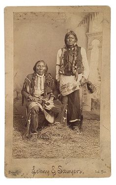 Dervako, Dur-Con-Each-La - Kiowa Apache - by Lenny & Sawyers - no date.