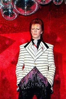 David Bowie wax figure is unveiled at Madame Tussauds on September 28, 2017 in Berlin, Germany.