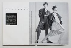"""Filed under Galliano Lewks by TheFace - Spring/Summer 1985 fashion show """"Afghanistan Repudiates Western Ideals"""""""