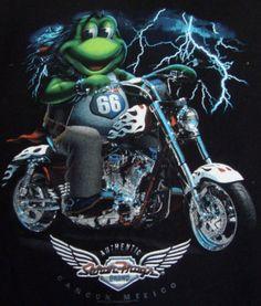 Senor Frog Cancun Mexico Muscle T-shirt XL Sleeveless Biker Authentic Black Mens #SenorFrog #graphic