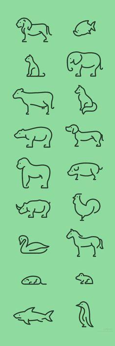 animals, little tattoo idea: