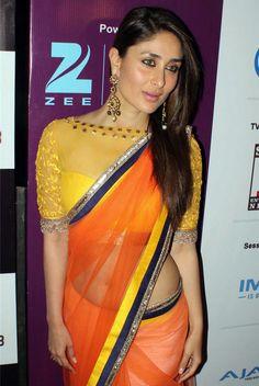 Kareena Kapoor Khan in Yellow Saree