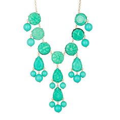 Natasha Accessories Faceted Bubble Necklace ($19) ❤ liked on Polyvore featuring jewelry, necklaces, aqua, bubble jewelry, beading jewelry, bead chain necklace, bubble necklace and natasha accessories jewelry