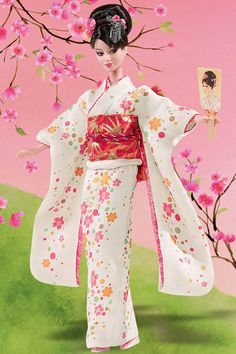 Japanese Barbie  gifted to me by another japanese friend!!  love her!