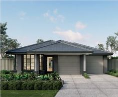 The Lennox is a cleverly designed home that provides a great floor plan for everyone in the family! Discover Lennox Homes at Metricon online now. Two Storey House Plans, Contemporary House Plans, Granny Flat, New Home Designs, Gazebo, New Homes, Outdoor Structures, House Design, Outdoor Decor