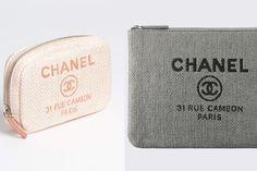 Chanel Deauville Pouches