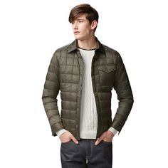 36db11823 10 Best Down shirt images in 2016 | Mens down jacket, Down shirt ...