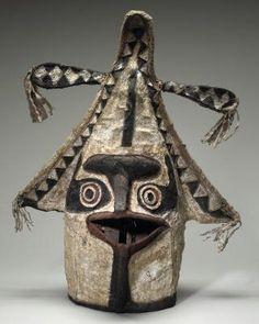 Eharo masks, Elema people, Orokolo Bay, Gulf province Papua New Guinea.