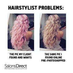 Hairstylist problems!