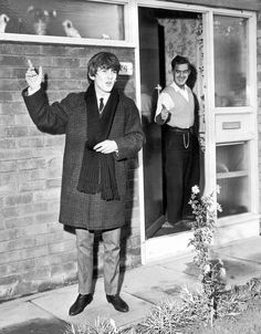 Visit to G's dad in Liverpool 1963