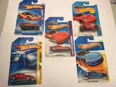 Hot Wheels Lot of 5 Corvette ZR1, Grand Sport, 14 Stingray Cars New on Cards #HotWheels #Corvette