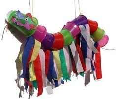 Chinese Flying Dragon Marionette | AllFreeKidsCrafts.com