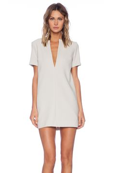 VIVIAN CHAN Annie Dress in Beige | REVOLVE $217