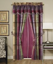 Chezmoi Collection 7pcs Moroccan Jacquard Patchwork Comforter Set Full