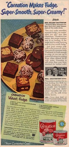 1948 Carnation Velvet Fudge