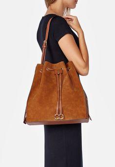 af13e024b94 Just Go With It Shoulder Bag in Cognac - Get great deals at JustFab Just Go