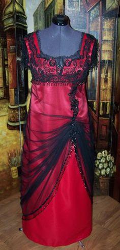 Titanic Jump Dress Downton Abby Victorian Edwardian Gown Dress. $850.00, via Etsy.