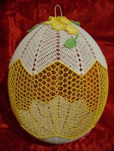 Christmas Bells, Christmas Ornaments, Easter Crochet, Thread Crochet, Amigurumi Doll, Happy Easter, Easter Eggs, Lana, Decoupage