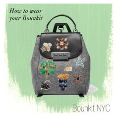 """How to wear your Bounkit"" by bounkitnyc on Polyvore featuring ZAC Zac Posen"