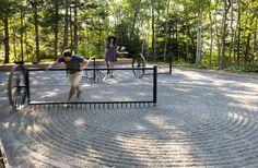 talmon biran architecture composes interactive zen garden