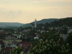 Weststadt mit Stephanuskirche