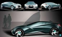 Hyundai Genesis Coupe by Michael McGee, via Behance
