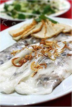 Banh Cuon Vietnamese Steam Rice Rolls