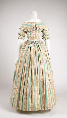 Dress, Morning  Date: ca. 1837 Culture: British