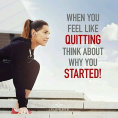 When you feel like quitting think about why you started! . . . Build your tomorrow today. Live your dreams with Lifestyle. Beauty - Nutrition - Lifestyle Business opportunity Join Jeunesse family http://ift.tt/2ayx1Cx. . . . #businesspassion #business #marketing #entrepreneurship #grind #hustle #learn #education #startup #marketing #success #successquotes #build #startuplife #businessowners #ambition #dream #goals #start #money #businessman #businesswoman #businesslife #entrepreneurlifestyle…