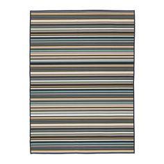 IKEA - KÄRBÄK, Tapis tissé à plat, int/extérieur, , Les motifs sont identiques des deux côtés du tapis que vous pouvez retourner pour répartir l'usure et conserver plus longtemps.Idéal dans votre salon ou sous votre table de salle à manger car sa surface plane facilite le déplacement des chaises et le passage de l'aspirateur.Surface plane facile à entretenir avec un aspirateur.Tapis idéal pour une utilisation à l'extérieur car le matériau est résistant à l&...
