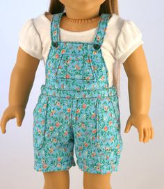 Original Overalls with Cuffs by Forever18Inches via Etsy  (SOLD BY RESERVE)