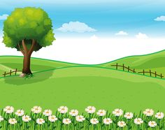 Find Illustration Hilltop Garden Giant Tree stock images in HD and millions of other royalty-free stock photos, illustrations and vectors in the Shutterstock collection. Thousands of new, high-quality pictures added every day. Kids Background, Background Clipart, Landscape Background, Cartoon Background, Background Images, Borders For Paper, Borders And Frames, Art Drawings For Kids, Drawing For Kids