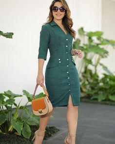 Shop Sexy Trending Dresses – Chic Me offers the best women's fashion Dresses deals Simple Dresses, Cute Dresses, Casual Dresses, Dresses For Work, Skirt Outfits, Chic Outfits, Fashion Outfits, Frack, Outfit Trends