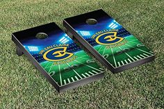 Wisconsin Eau Claire Blugolds Cornhole Game Set Stadium Version ** Click on the image for additional details.