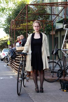 Bike Street Style by Fashionist for the Modcloth Blog