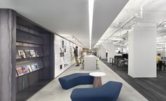 Q5 Benches from Davis Furniture in the Forum Studio/Treehouse Adventures Chicago Office - designed by Forum Studio