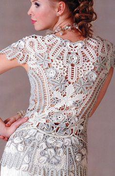 Crochet Patterns. E-book. Instant Download PDF.  DressSkirt