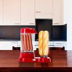 foto: Máquina de Cachorro Quente Hot Dog Maker Vermelha
