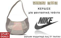 Διαγωνισμός με δώρο μία φανταστική γυναικεία τσάντα NIKE Bra, Nike, Sports, Gifts, Fashion, Hs Sports, Moda, Presents, Fashion Styles
