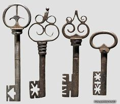Antique keys......